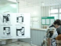 В поликлинике краевой больницы проходит выставка рисунков Игоря Трошева.