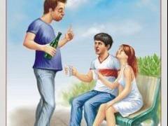 пейте пиво с юных лет у дебилов проблем нет